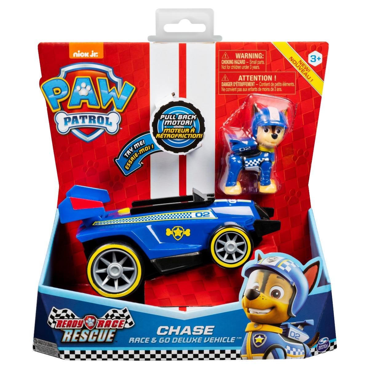 Masinuta cu figurina Paw Patrol Ready Race, Chase 20119526