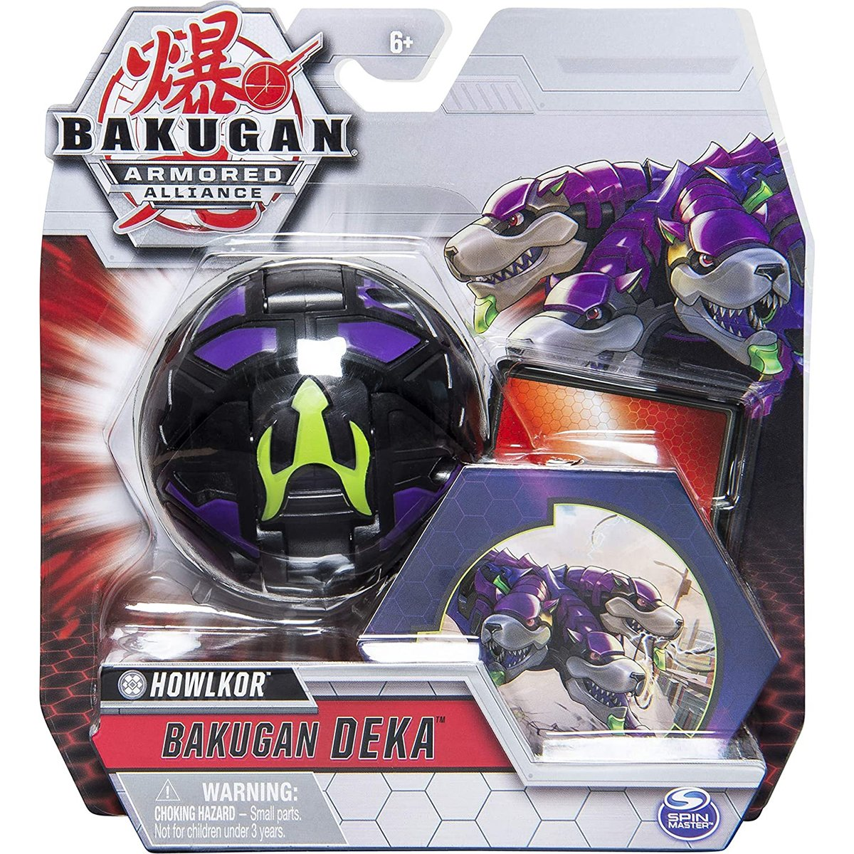 Figurina Bakugan Deka Armored Alliance, Howlkor, 20122720