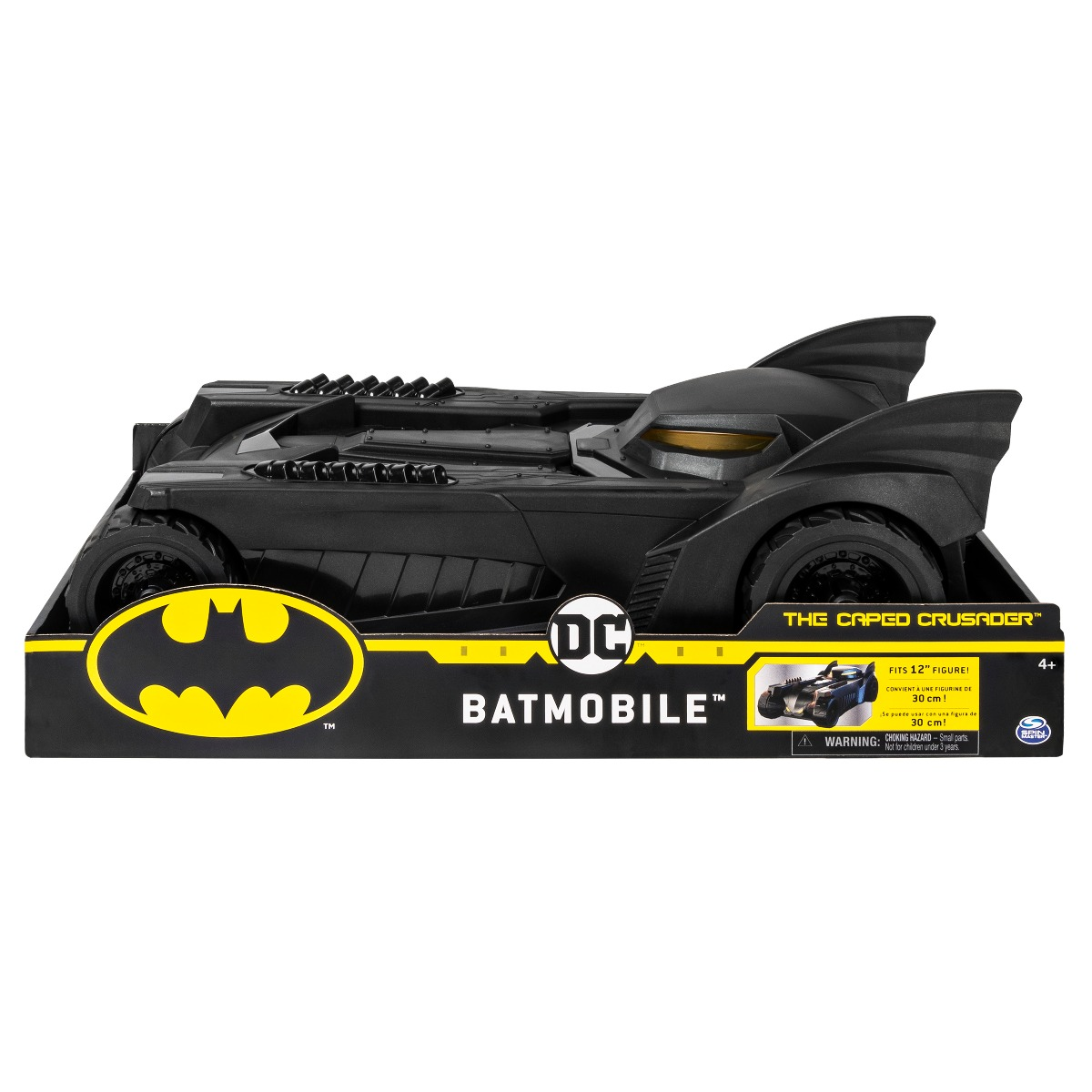 Masinuta Batman The Caped Crusader, Batmobile 30 cm