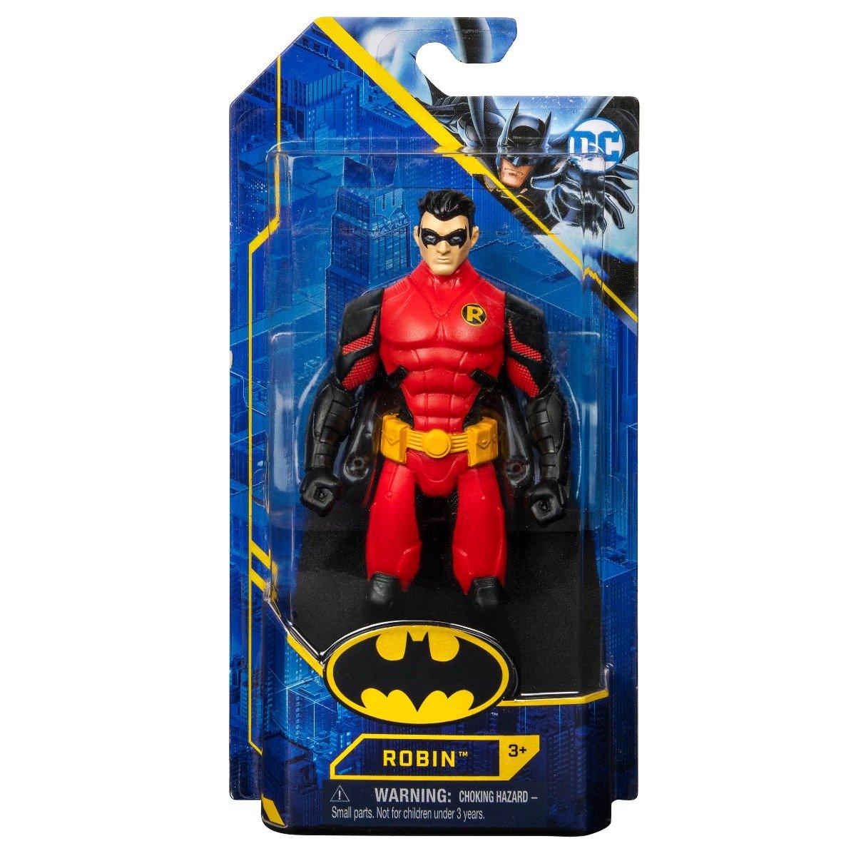 Figurina articulata Batman, Robin, 15 cm, 20130944