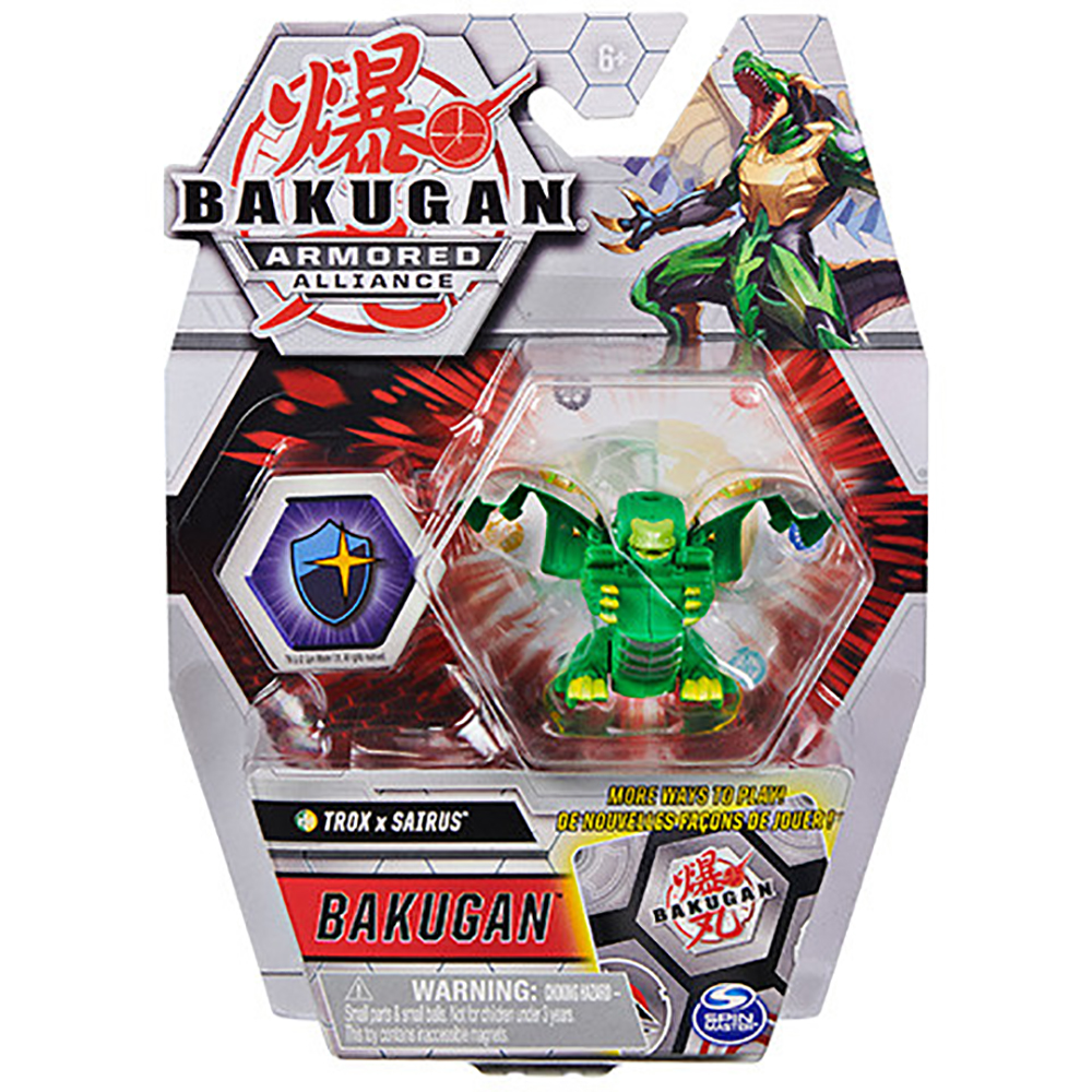 Figurina Bakugan Armored Alliance, Trox x Sairus, 20124833
