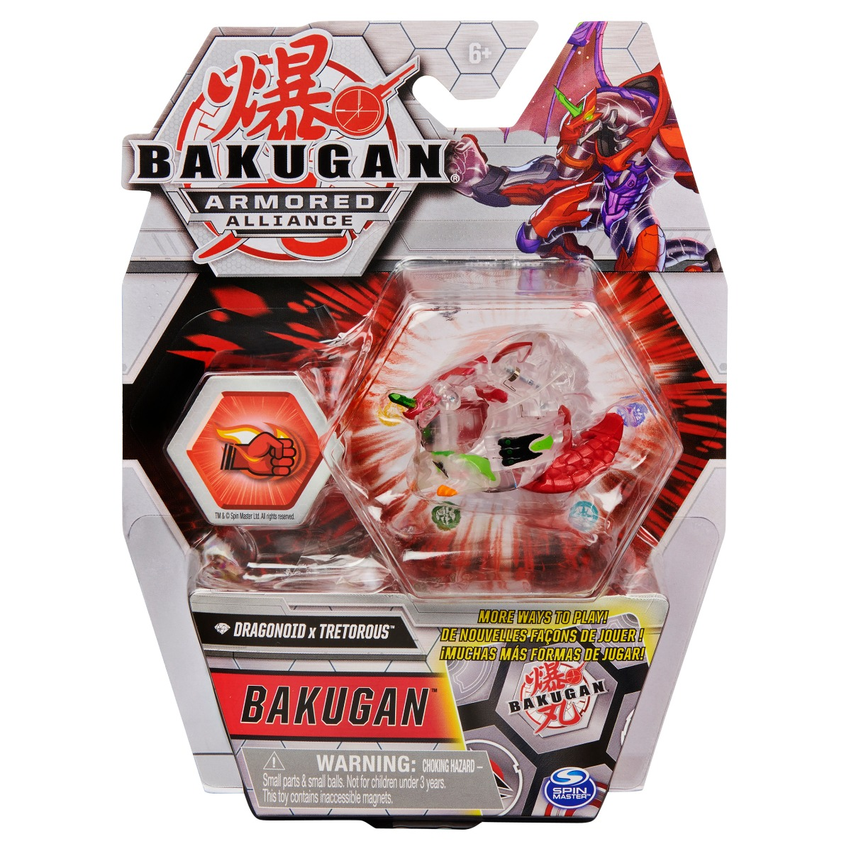 Figurina Bakugan Armored Alliance, Dragonoid x Tretorous, 20124834