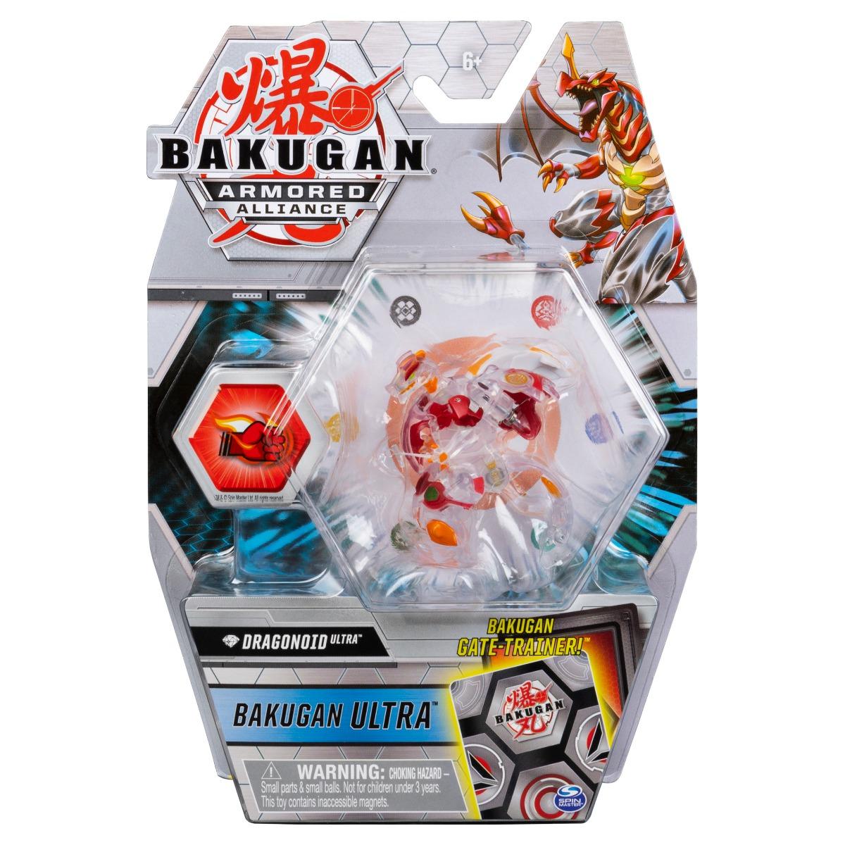 Figurina Bakugan Ultra Armored Alliance, Diamond Dragonoid, 20124299