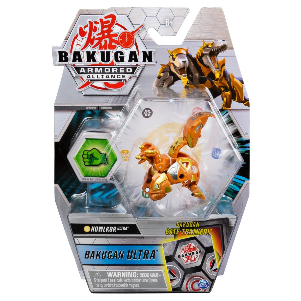 Figurina Bakugan Ultra Armored Alliance, Howlkor, 20124298 imagine