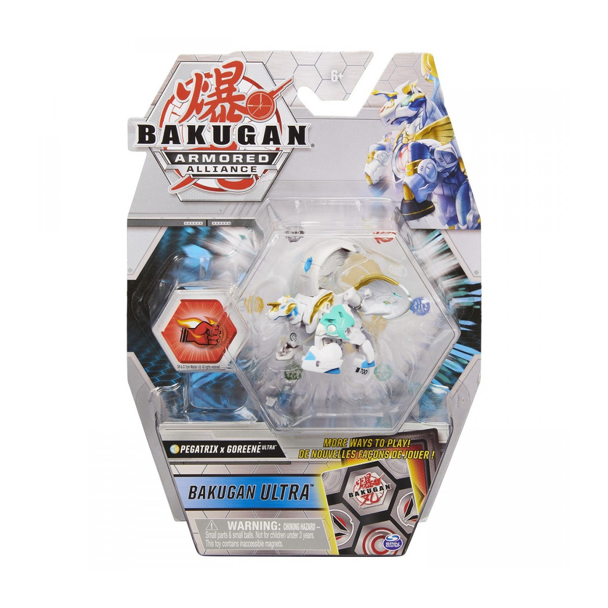 Figurina Bakugan Ultra Armored Alliance, Pegatrix x Goreene, 20124617