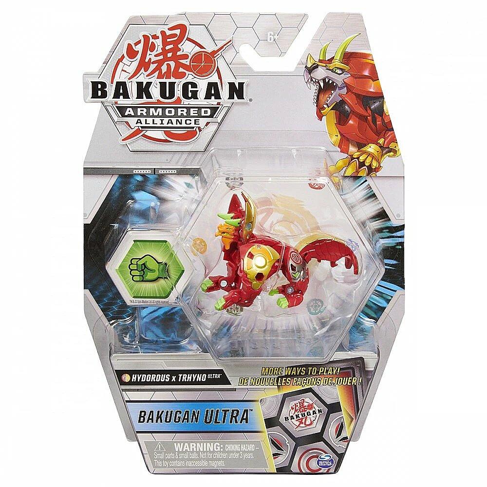 Figurina Bakugan Ultra Armored Alliance, Hydorous x Trhyno, 20124619