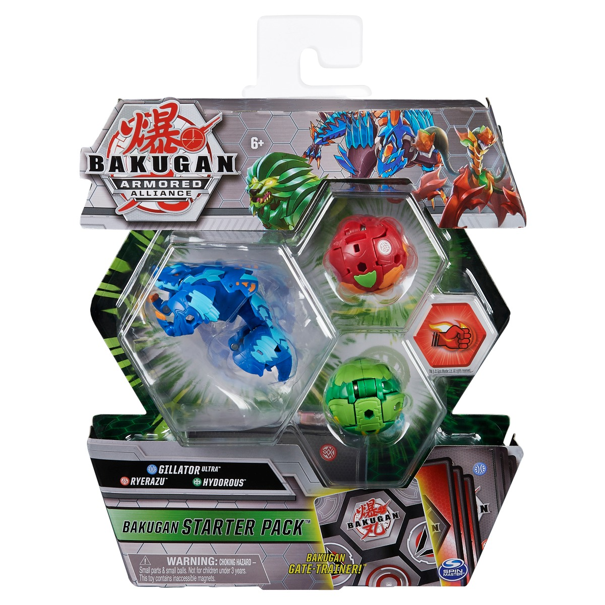 Set Bakugan Armored Alliance, Gillator Ultra, Ryerazu, Hydorous 20124818
