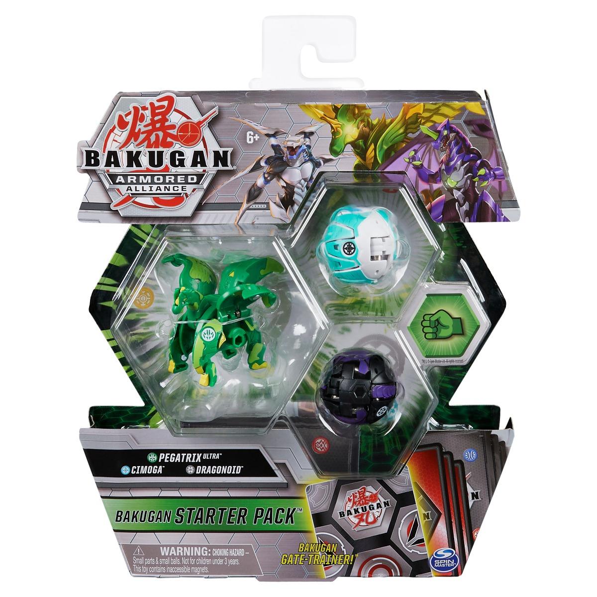 Set Bakugan Armored Alliance, Pegatrix Ultra, Cimoga, Dragonoid 20124817
