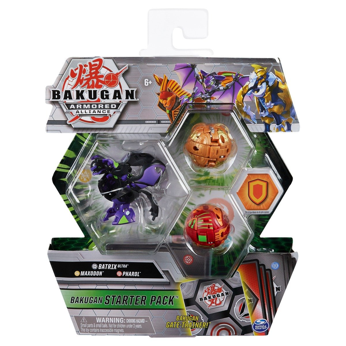 Set Bakugan Armored Alliance, Batrix Ultra, Maxodon, Pharol 20124820