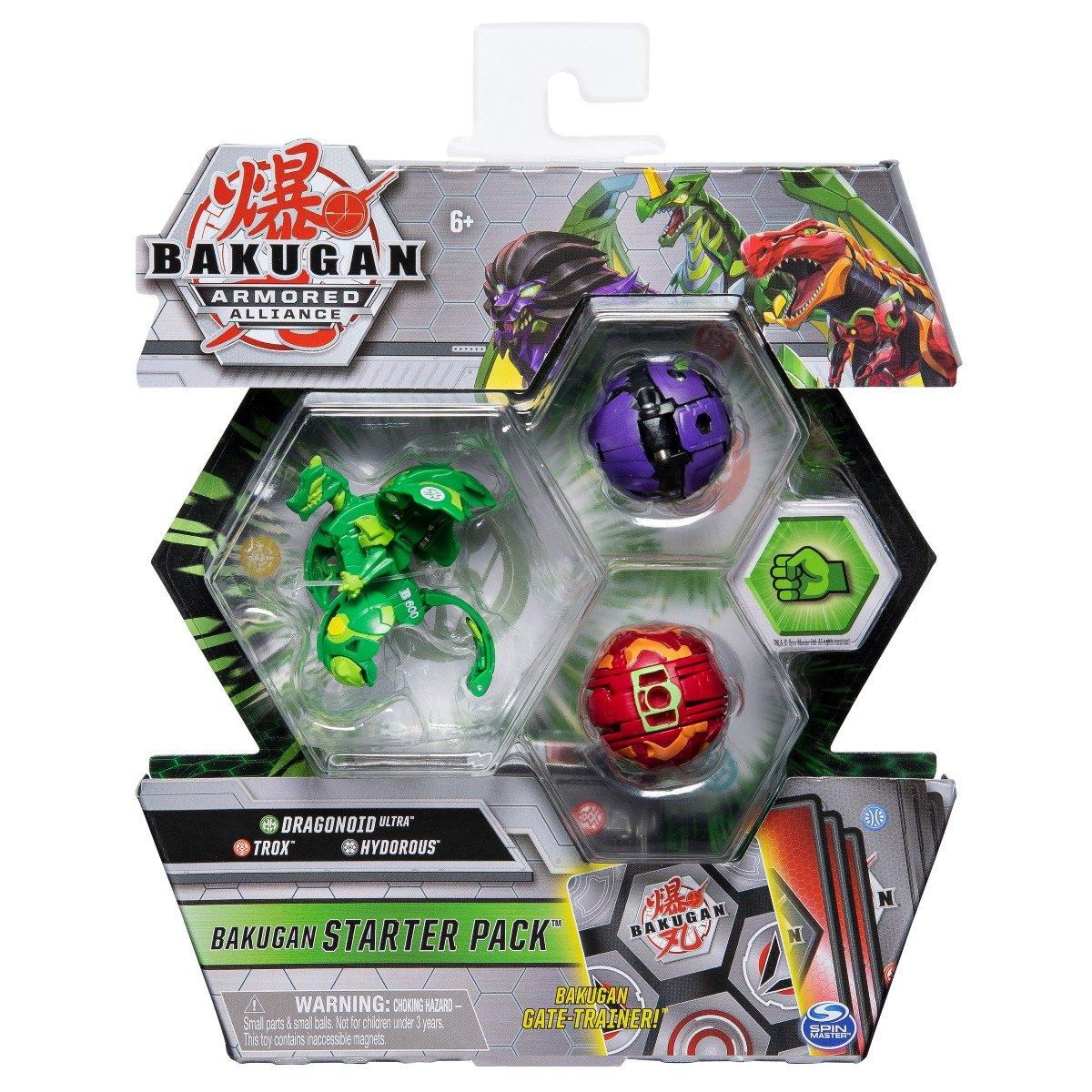 Set Bakugan Armored Alliance, Dragonoid Ultra, Trox, Hydorous 20122474