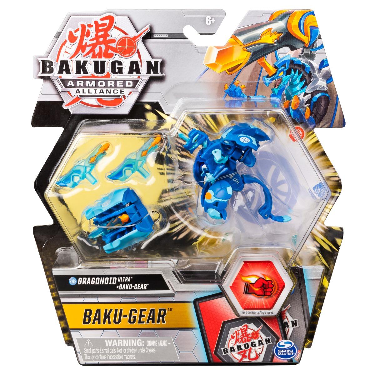 Figurina Bakugan Armored Alliance, Dragonoid Ultra, Baku-Gear 20124089 imagine