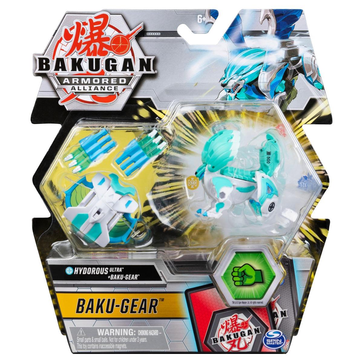 Figurina Bakugan Armored Alliance, Hydorous Ultra, Baku-Gear 20124090