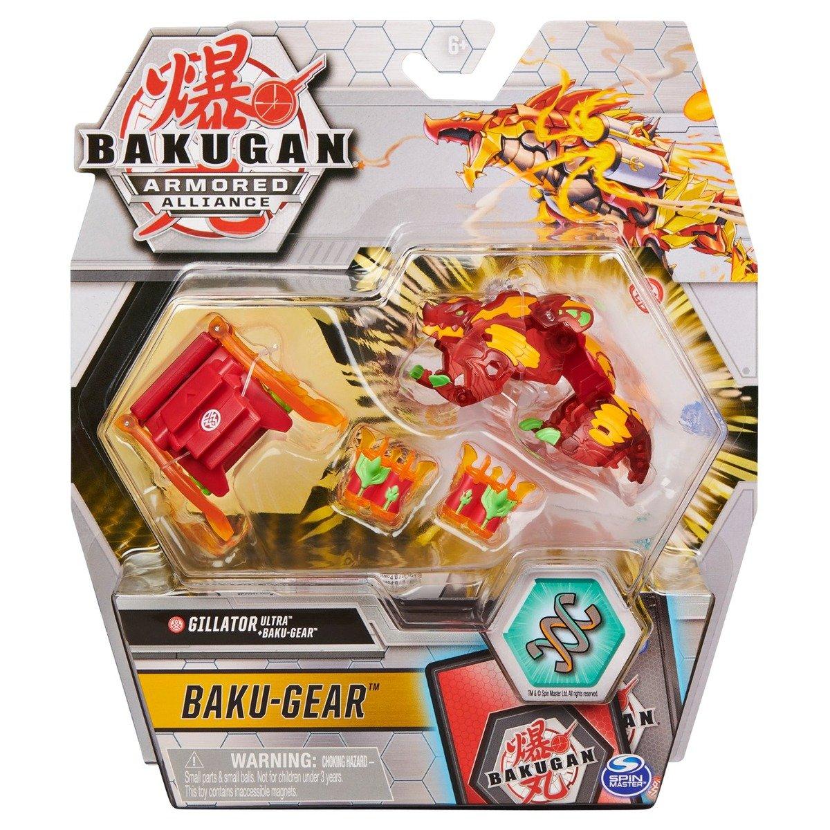 Figurina Bakugan Armored Alliance, Gillator Ultra, Baku-Gear, 20126518