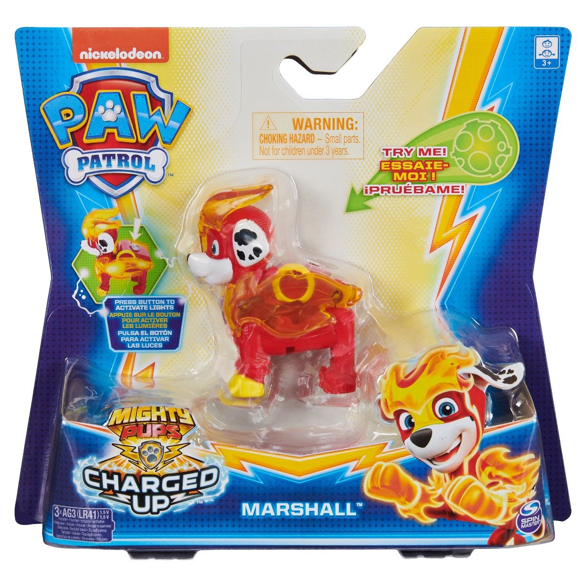 Figurina Paw Patrol Mighty Pups, Marshall 20122531