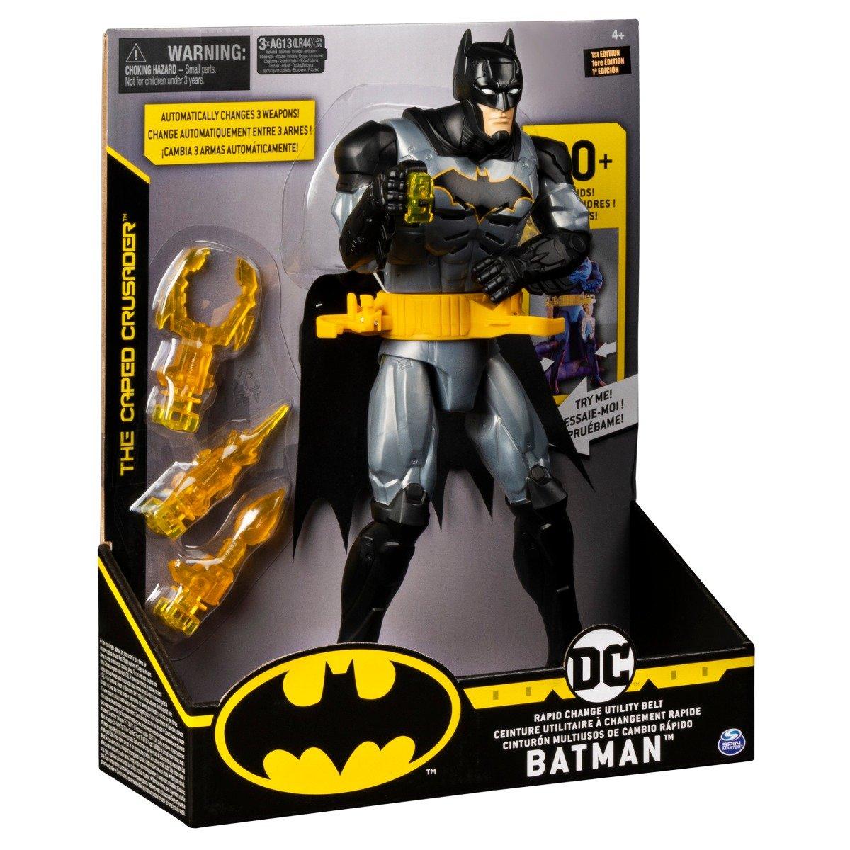 Figurina interactiva cu accesorii Batman, 30 cm, 20122566