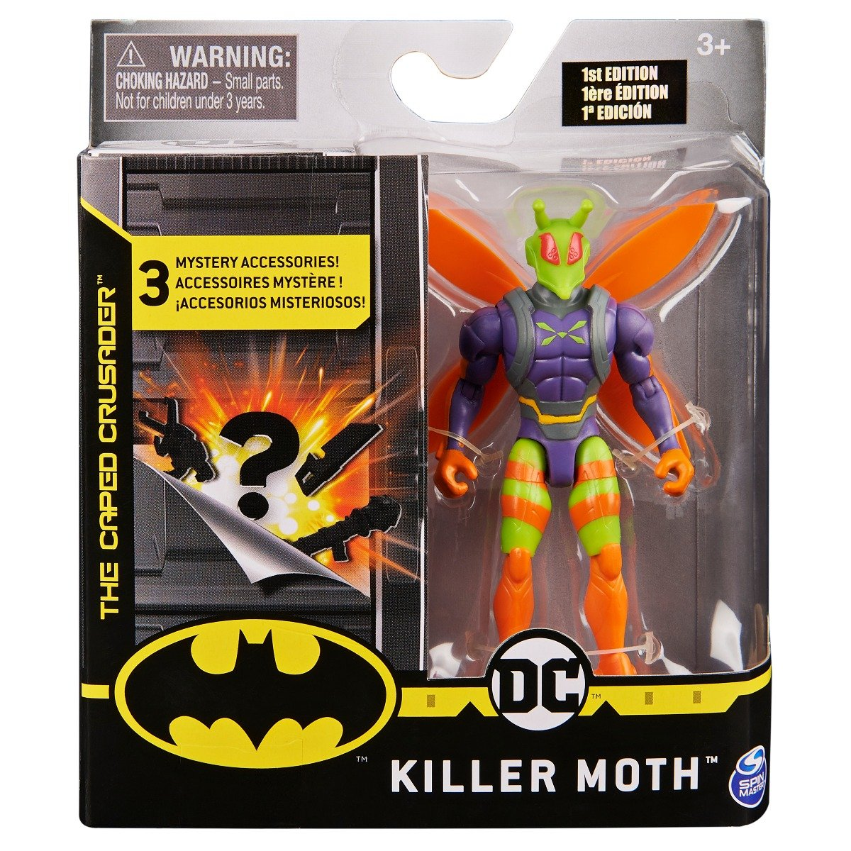 Set Figurina cu accesorii surpriza Batman, Killer Moth 20124538