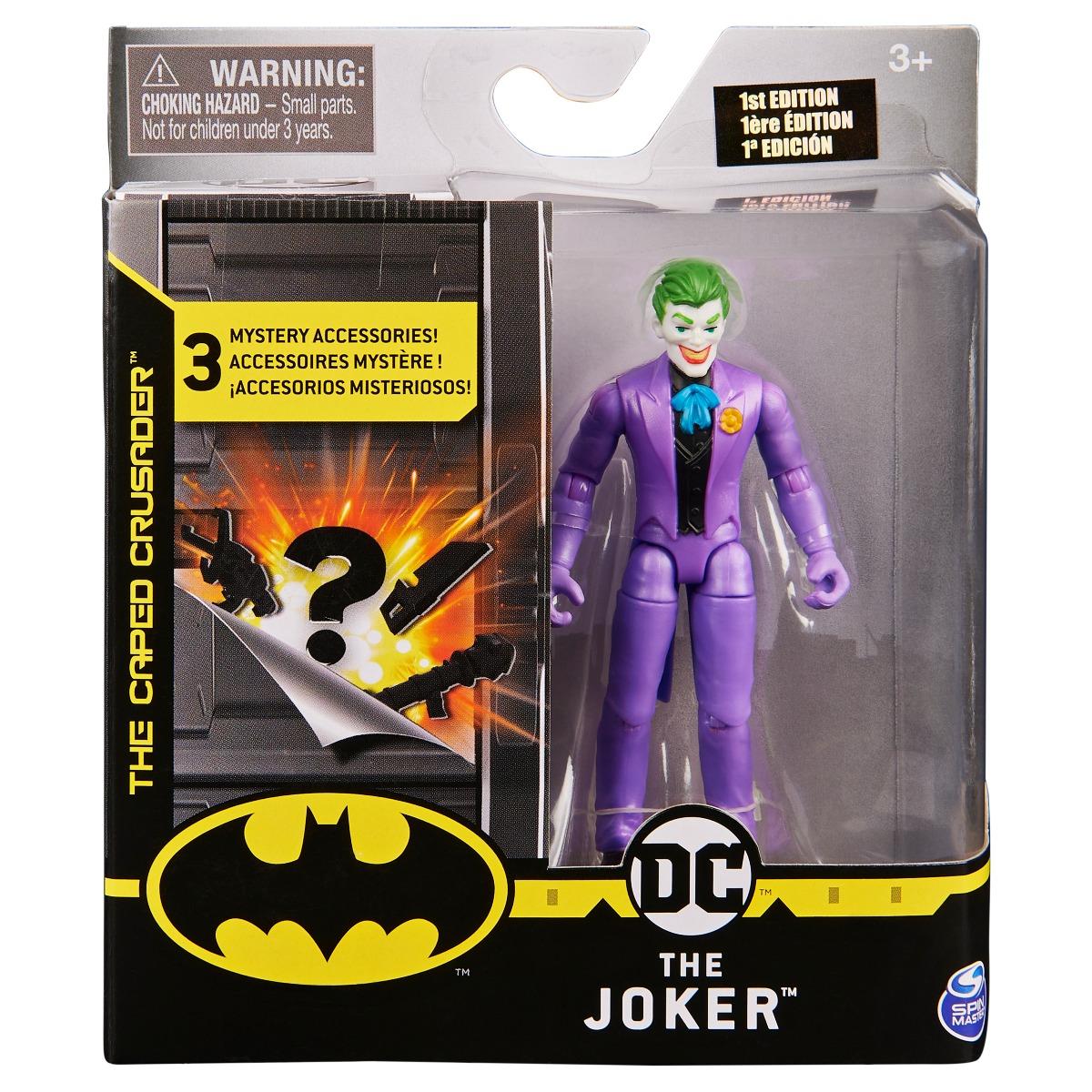 Set Figurina cu accesorii surpriza Batman, The Joker 20124529