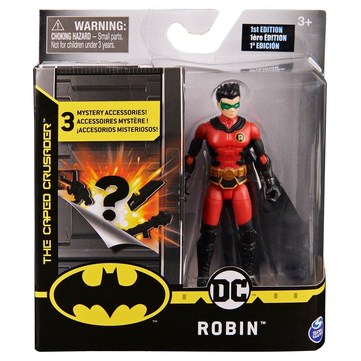 Set Figurina cu accesorii surpriza Batman, Robin 20124535