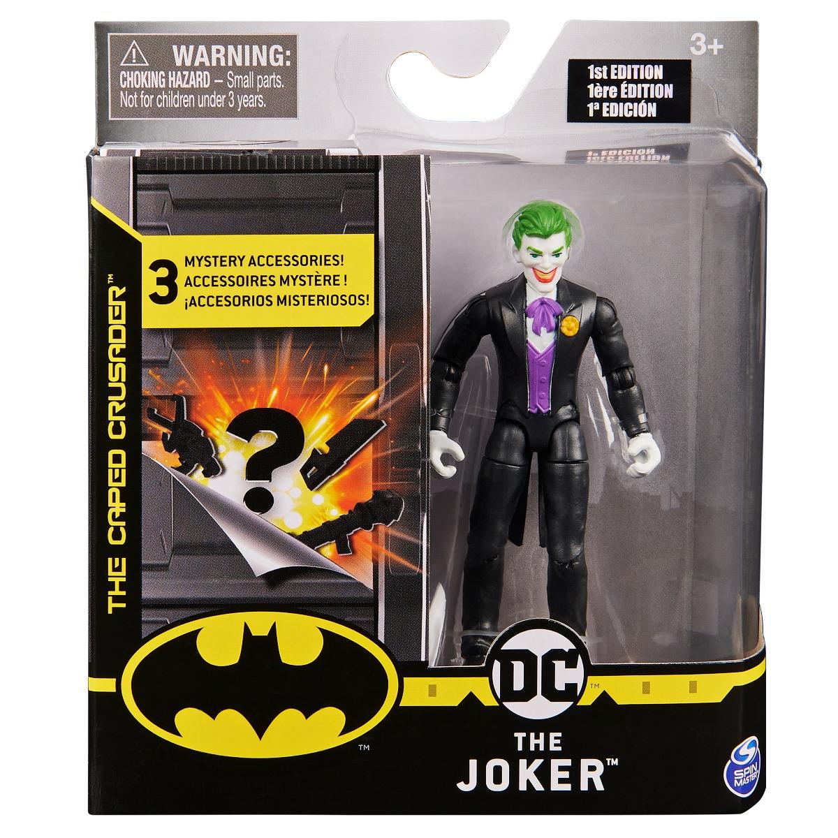 Set Figurina cu accesorii surpriza Batman, The Joker 20124527