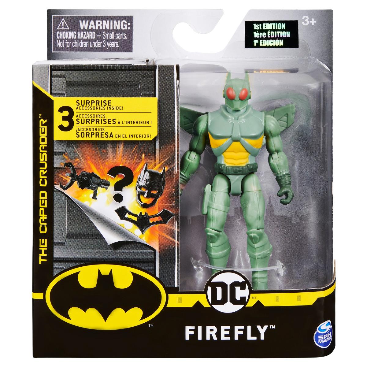 Set Figurina cu accesorii surpriza Batman, Firefly 20125097
