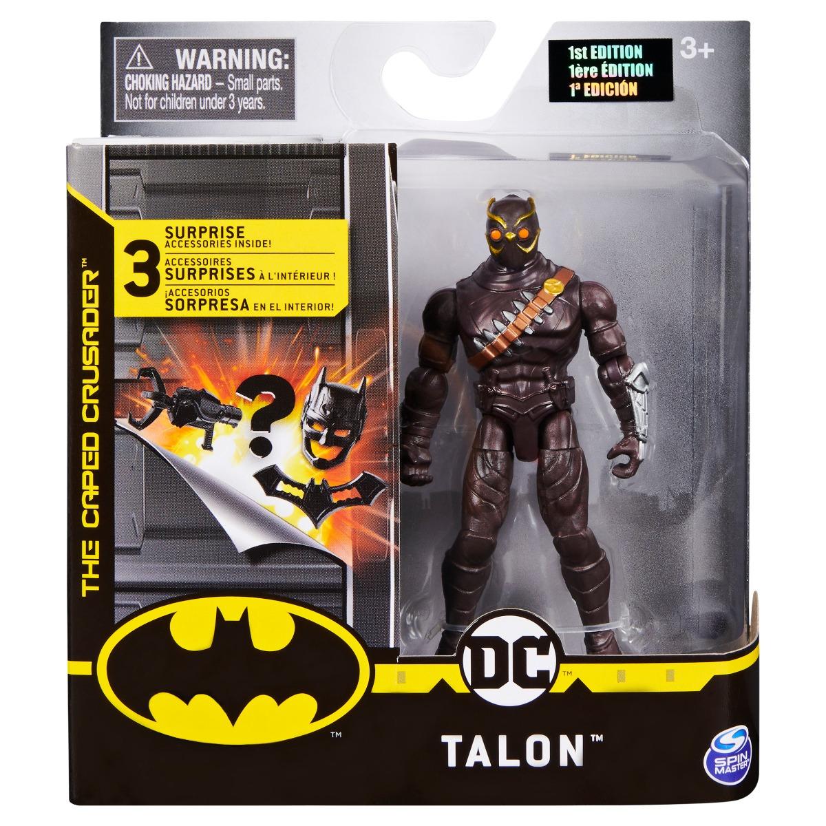 Set Figurina cu accesorii surpriza Batman, Talon 20125094 imagine 2021