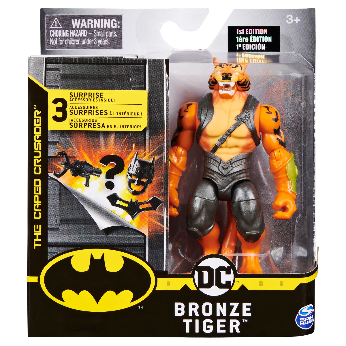 Set Figurina cu accesorii surpriza Batman, Bronze Tiger 20125104