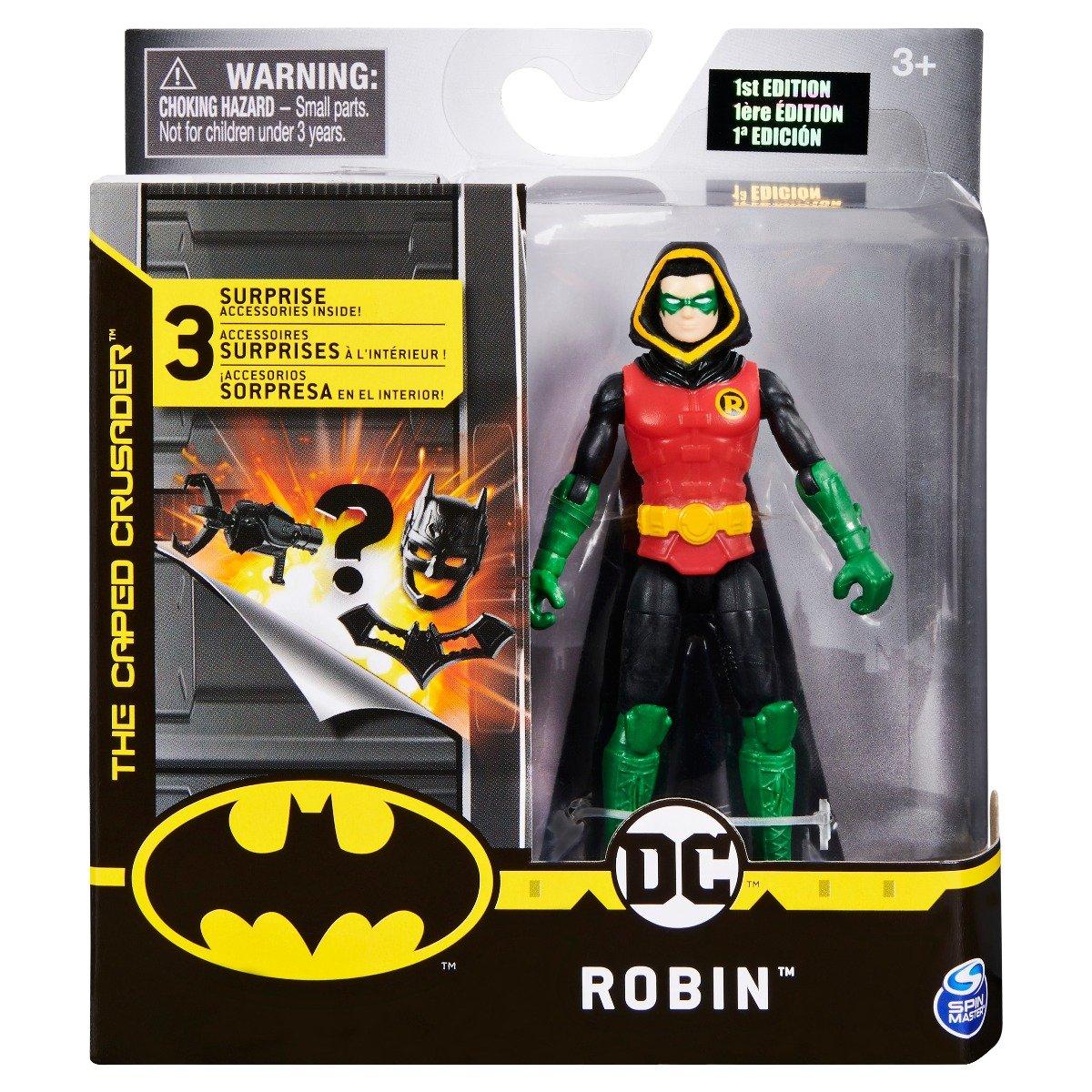 Set Figurina cu accesorii surpriza Batman, Robin 20125093