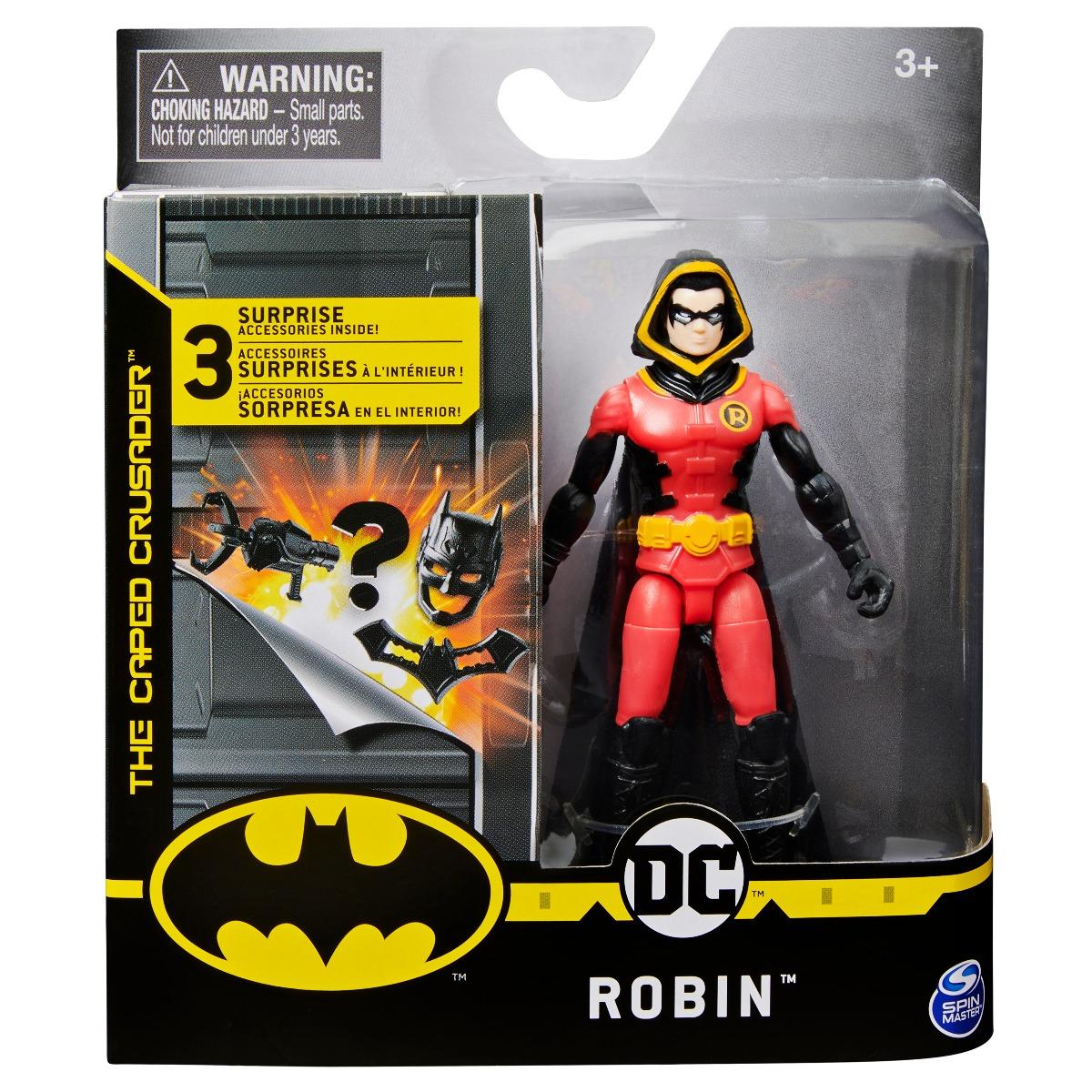 Set Figurina cu accesorii surpriza Batman, Robin 20125780