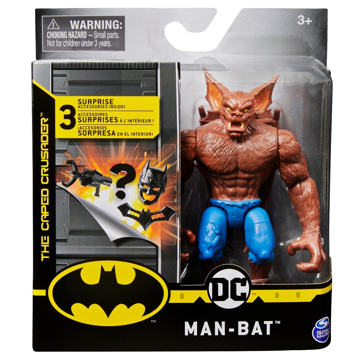 Set Figurina cu accesorii surpriza Batman, Man-Bat 20125784
