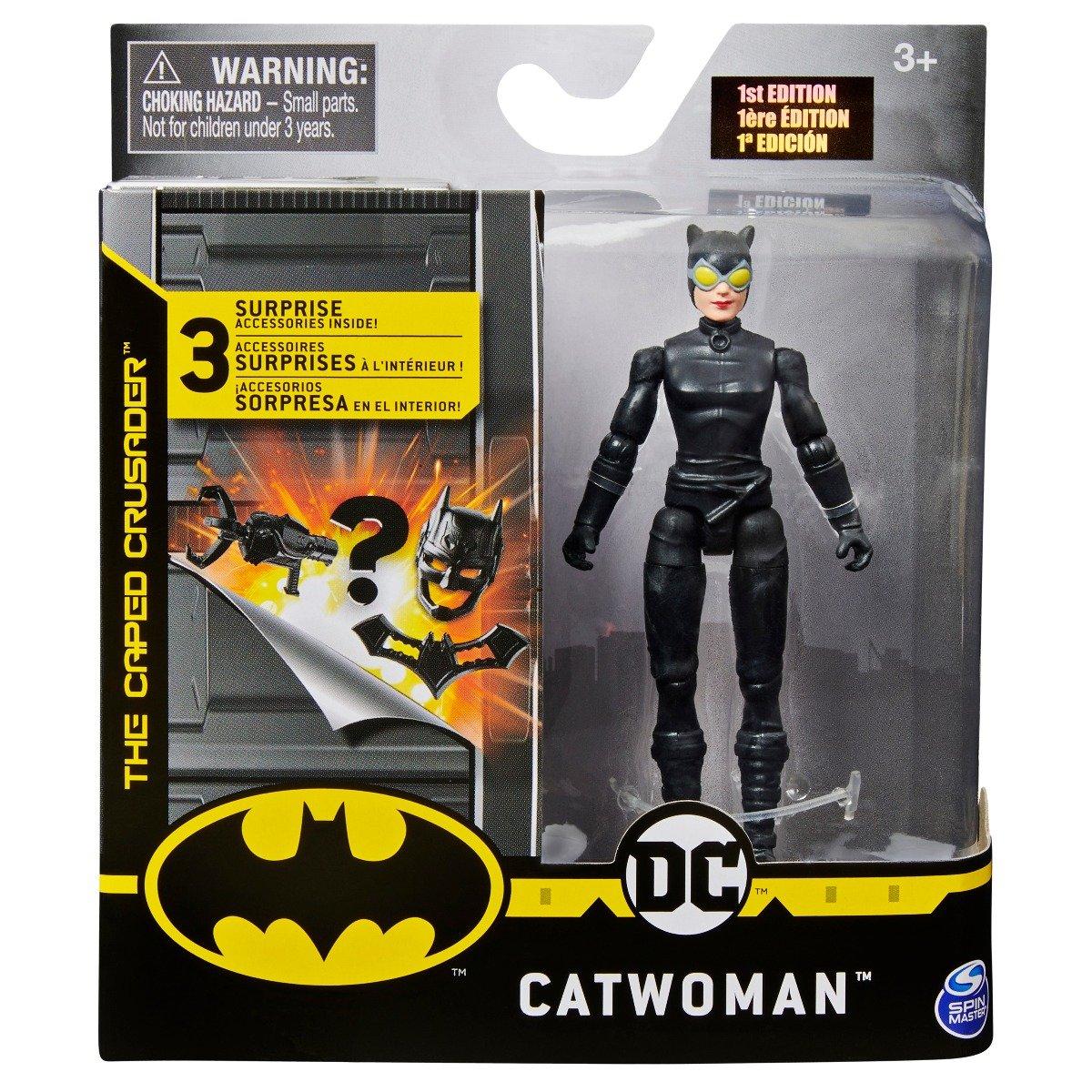 Set Figurina cu accesorii surpriza Batman, Catwoman 20125781