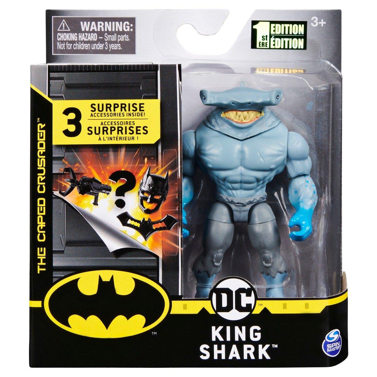 Set Figurina cu accesorii surpriza Batman, King Shark 20125792