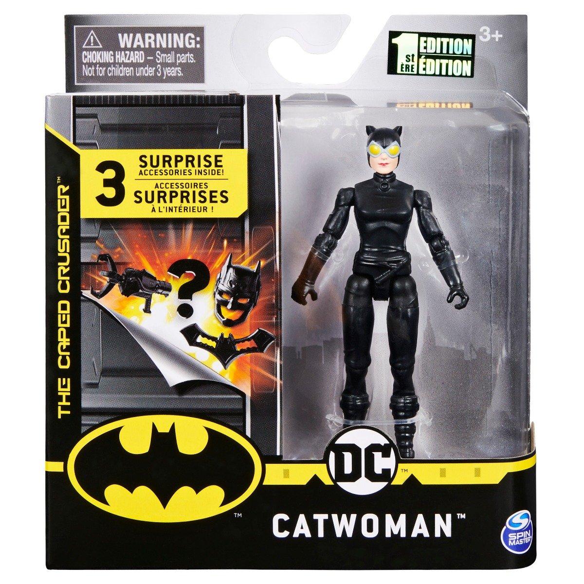Set Figurina cu accesorii surpriza Batman, Catwoman S1, 20125790