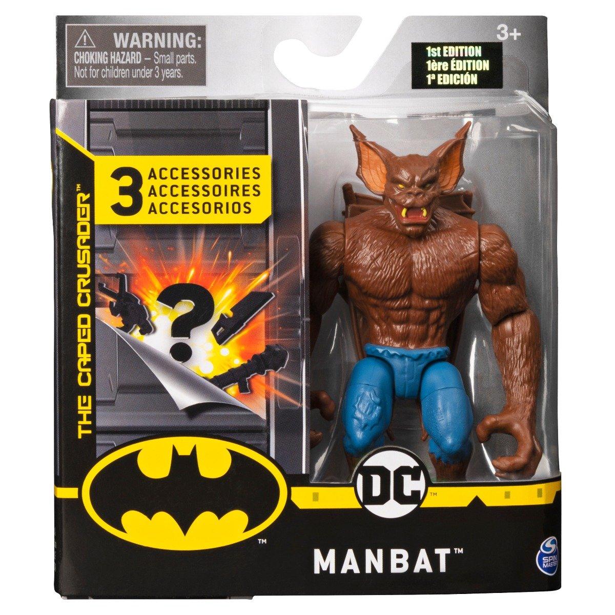 Set Figurina cu accesorii surpriza Batman, Manbat S1, 20125791
