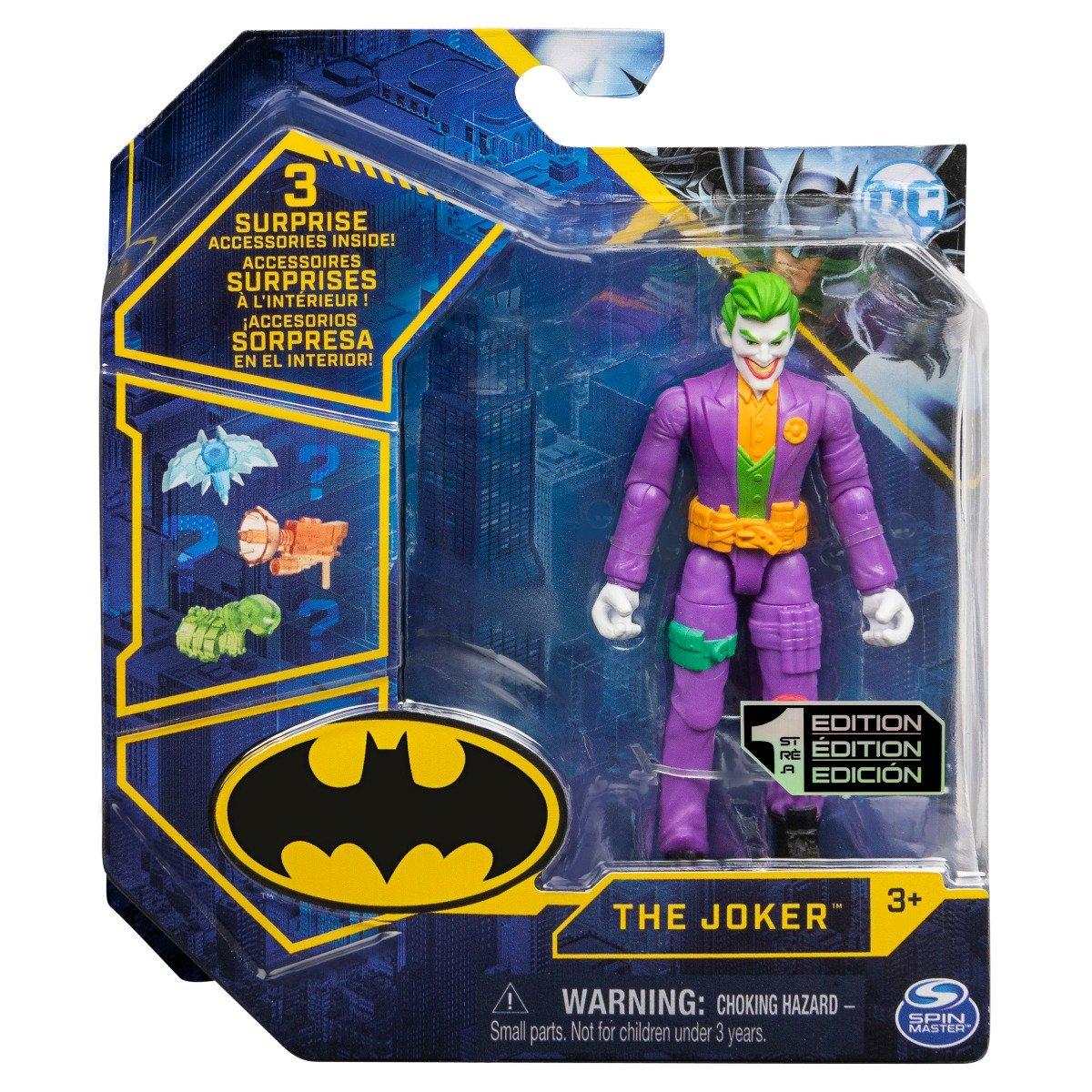 Set Figurina cu accesorii surpriza Batman, The Joker 20129810