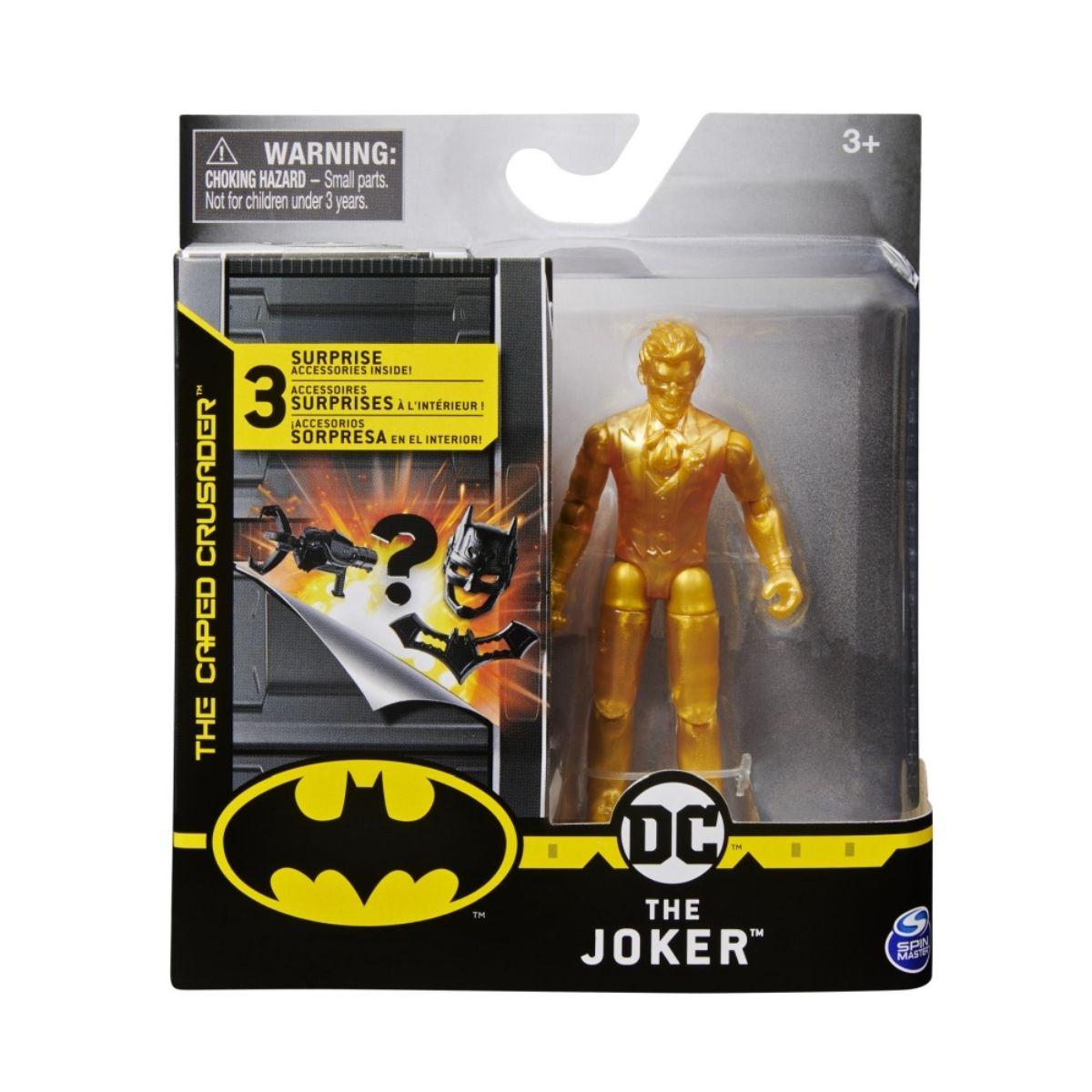 Set Figurina cu accesorii surpriza Batman, The Joker, 20125783