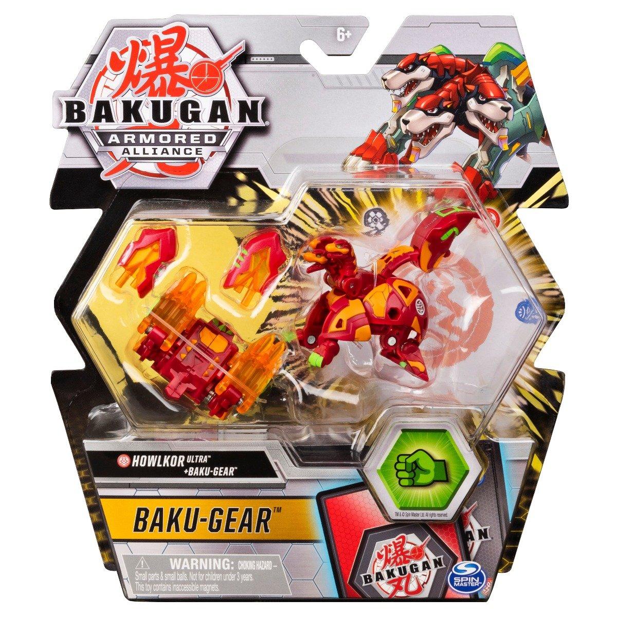 Figurina Bakugan Armored Alliance, Howlkor Ultra, Baku-Gear 20124088