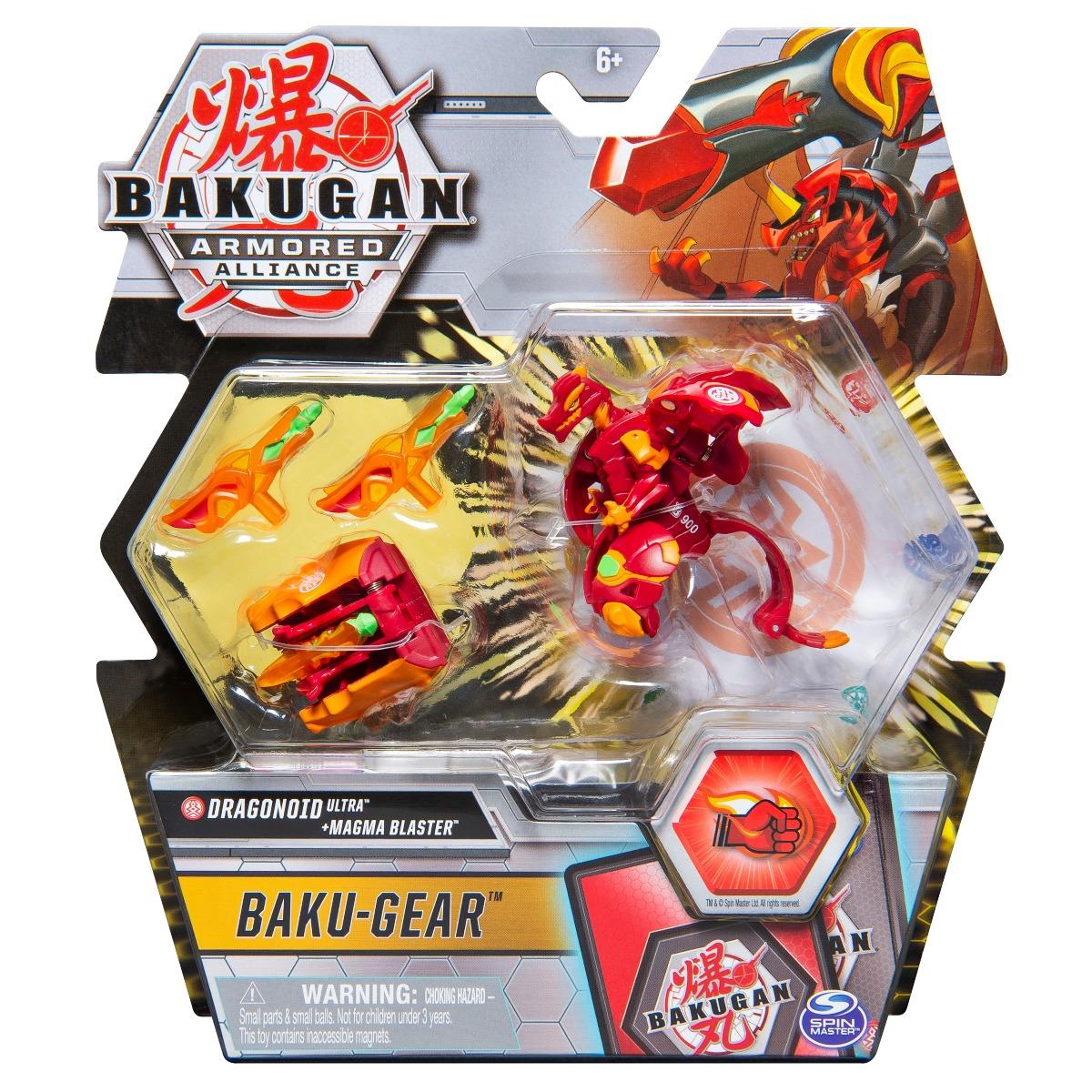 Figurina Bakugan Armored Alliance, Dragonoid Ultra, Baku-Gear 20122500