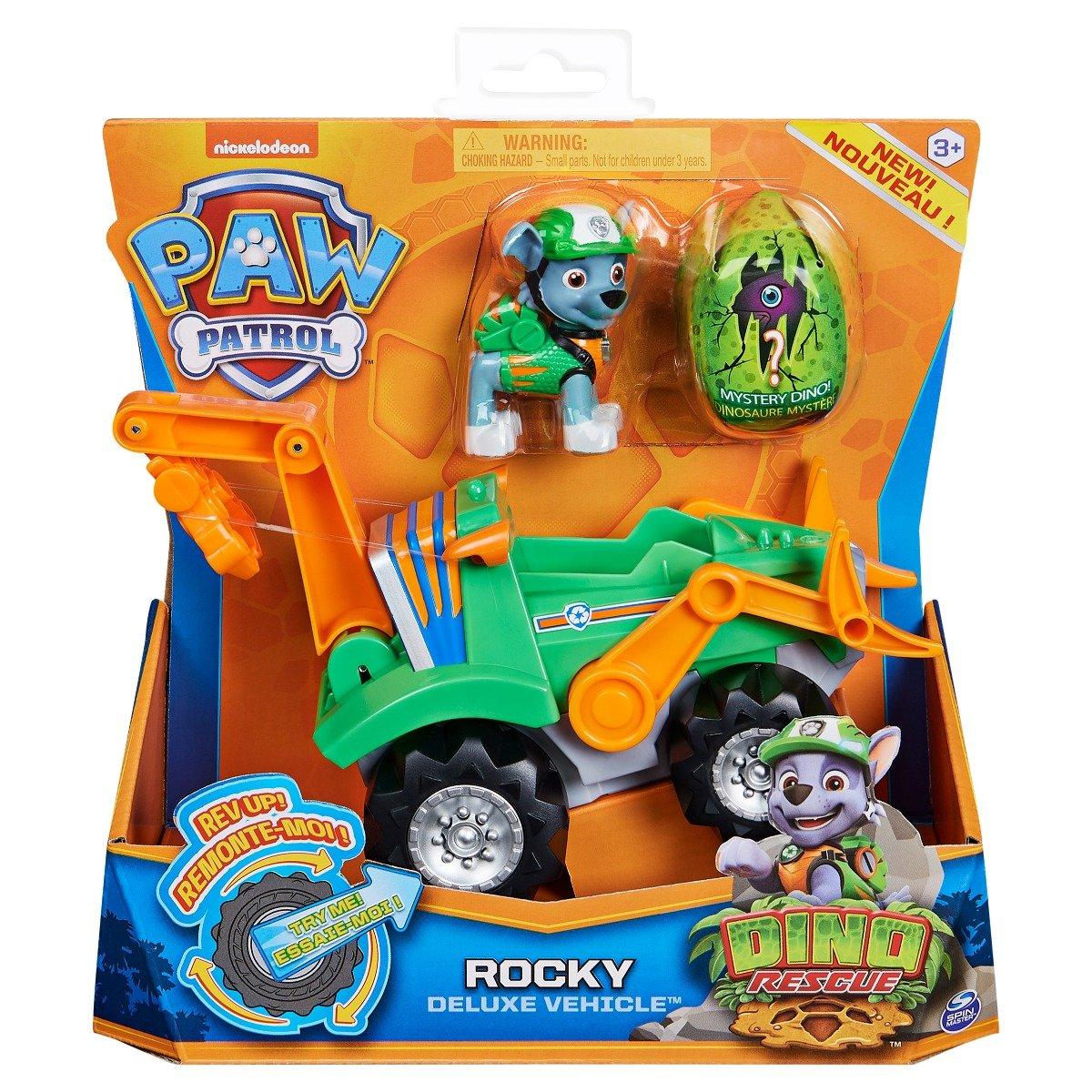 Figurina si vehicul Paw Patrol Dino Rescue, Rocky 20126722