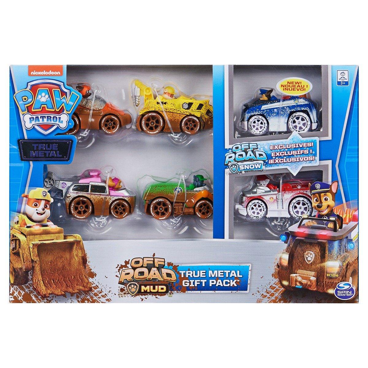 Set de figurine cu vehicule Paw Patrol Off Road Mud imagine 2021
