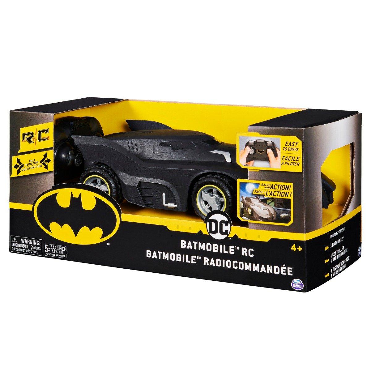 Masinuta cu telecomanda Batman, Batmobile, 1:20