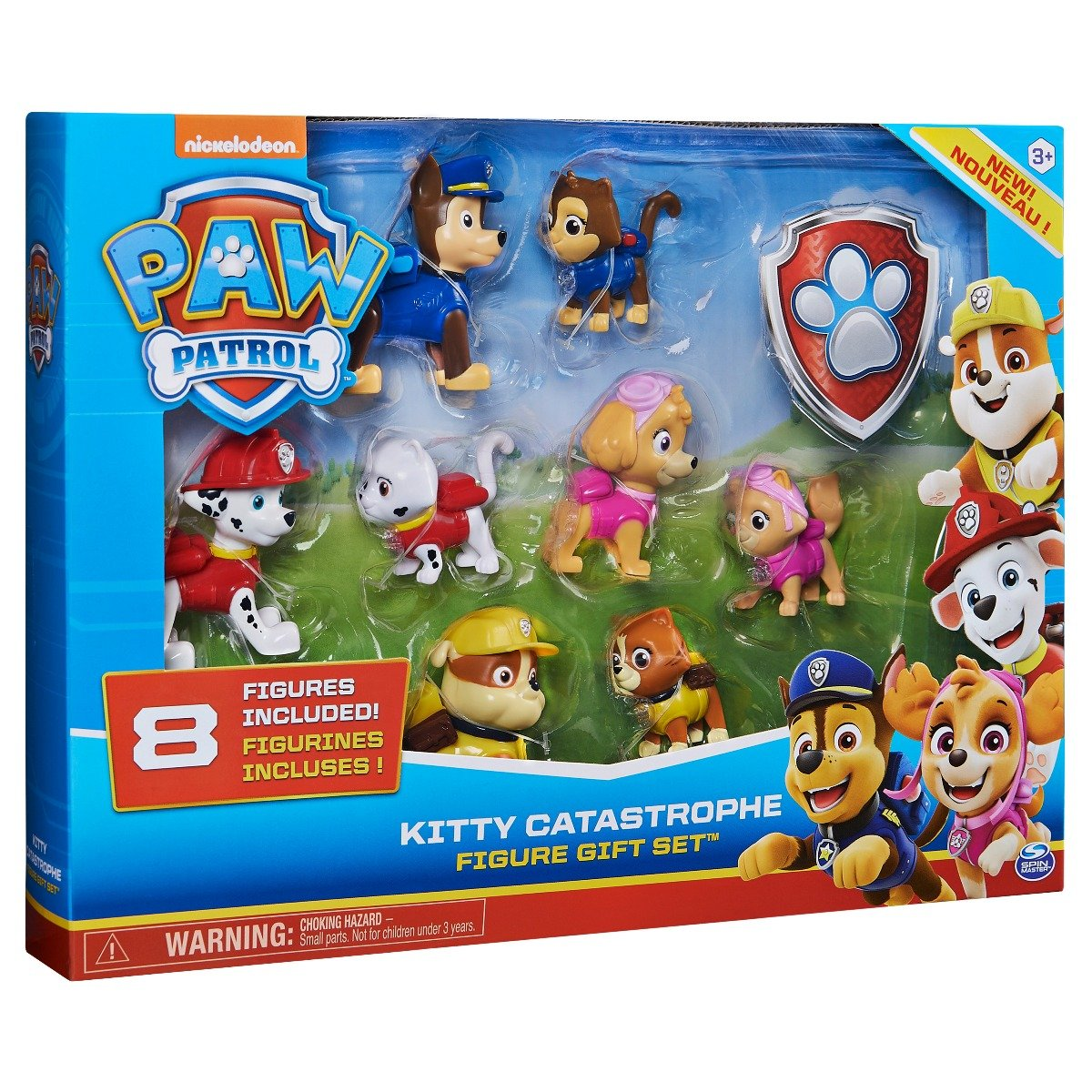 Set 8 figurine Paw Patrol Kitty Catastrophe
