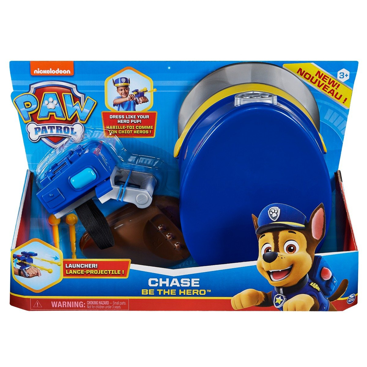 Set de accesorii Paw Patrol Chase Be The Hero