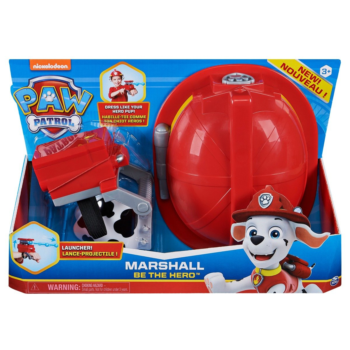 Set de accesorii Paw Patrol Marshall Be The Hero