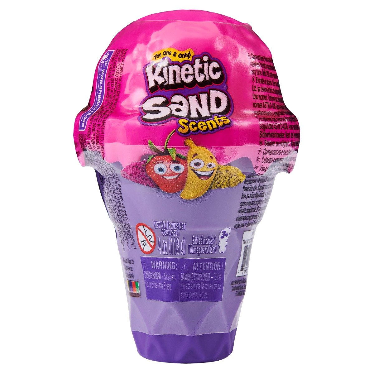 Kinetic Sand, Forma de inghetata, Strawberry Banana