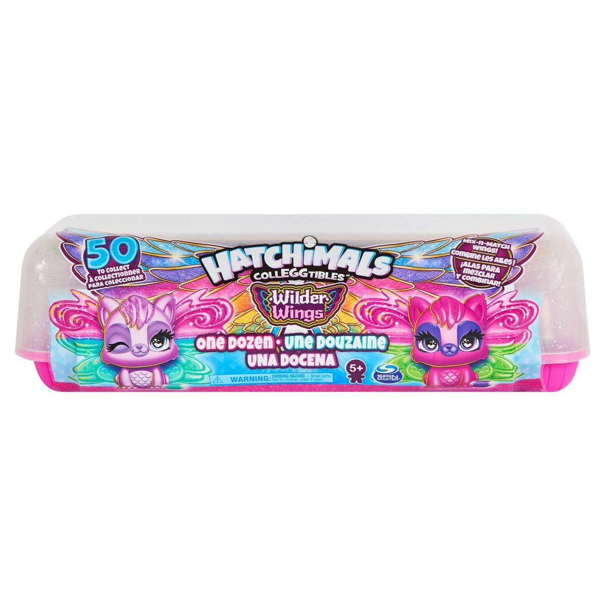 Figurine de colectie Hatchimals Wilder Wings, 12 buc