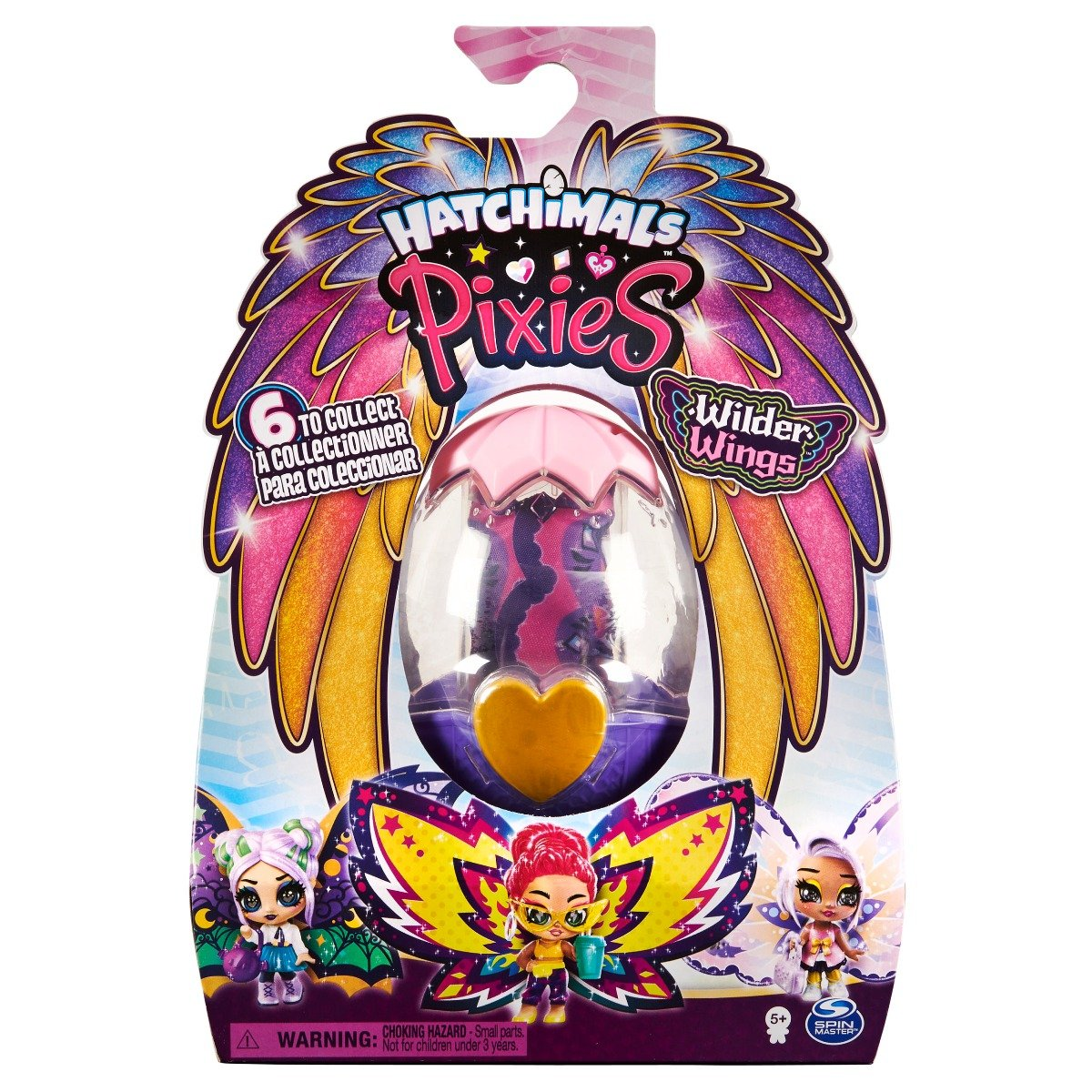 Figurina surpriza Hatchimals Pixies Wilder Wings 20127410
