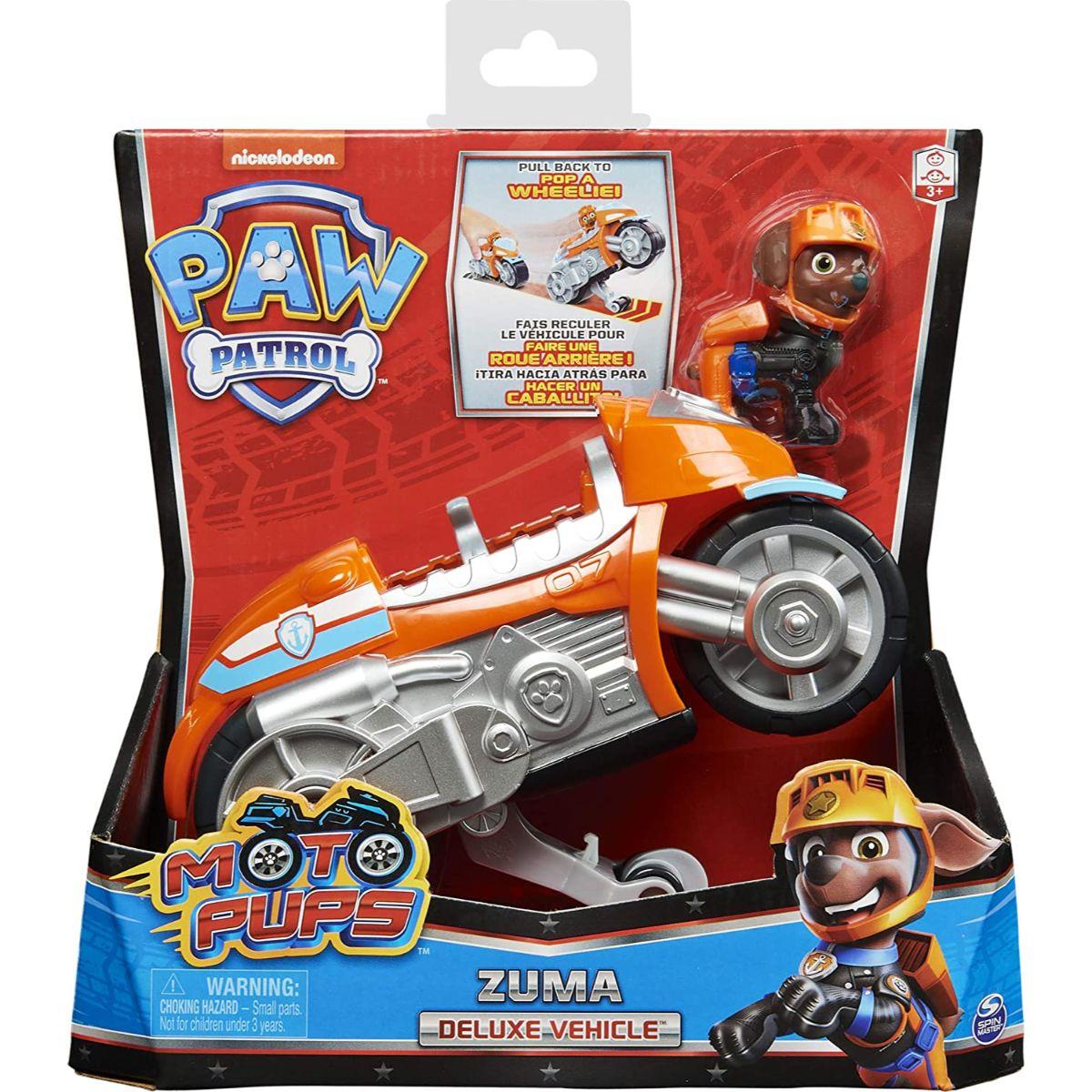Motocicleta si figurina Paw Patrol Moto Pups, Zuma, 20130046
