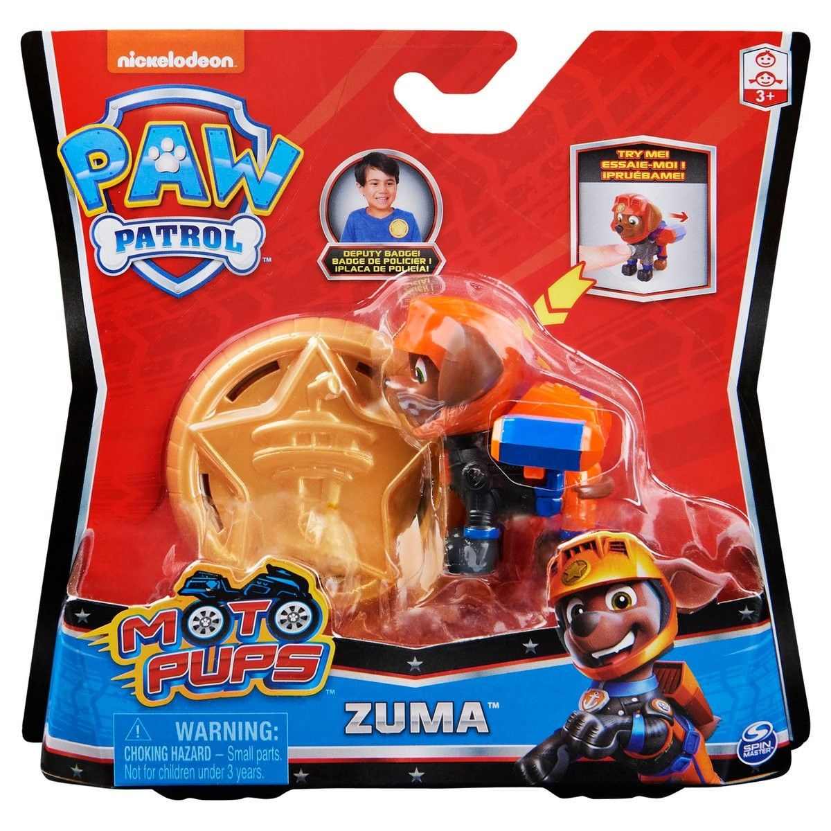 Figurina Paw Patrol Moto Pups, Zuma, 20128240