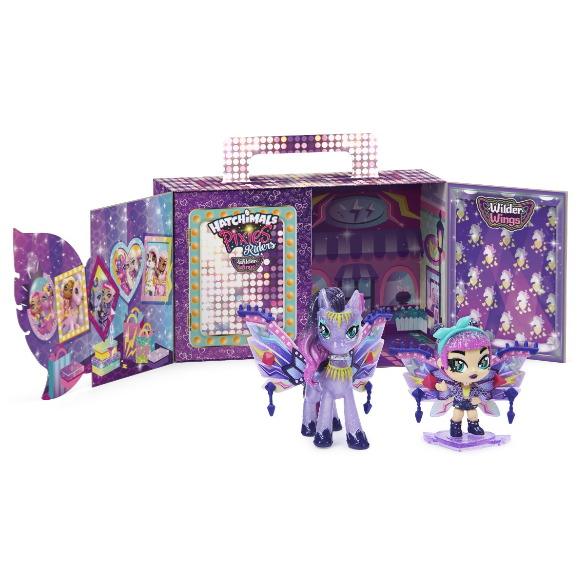 Figurina Hatchimals Pixies Riders, Polygator 20128605