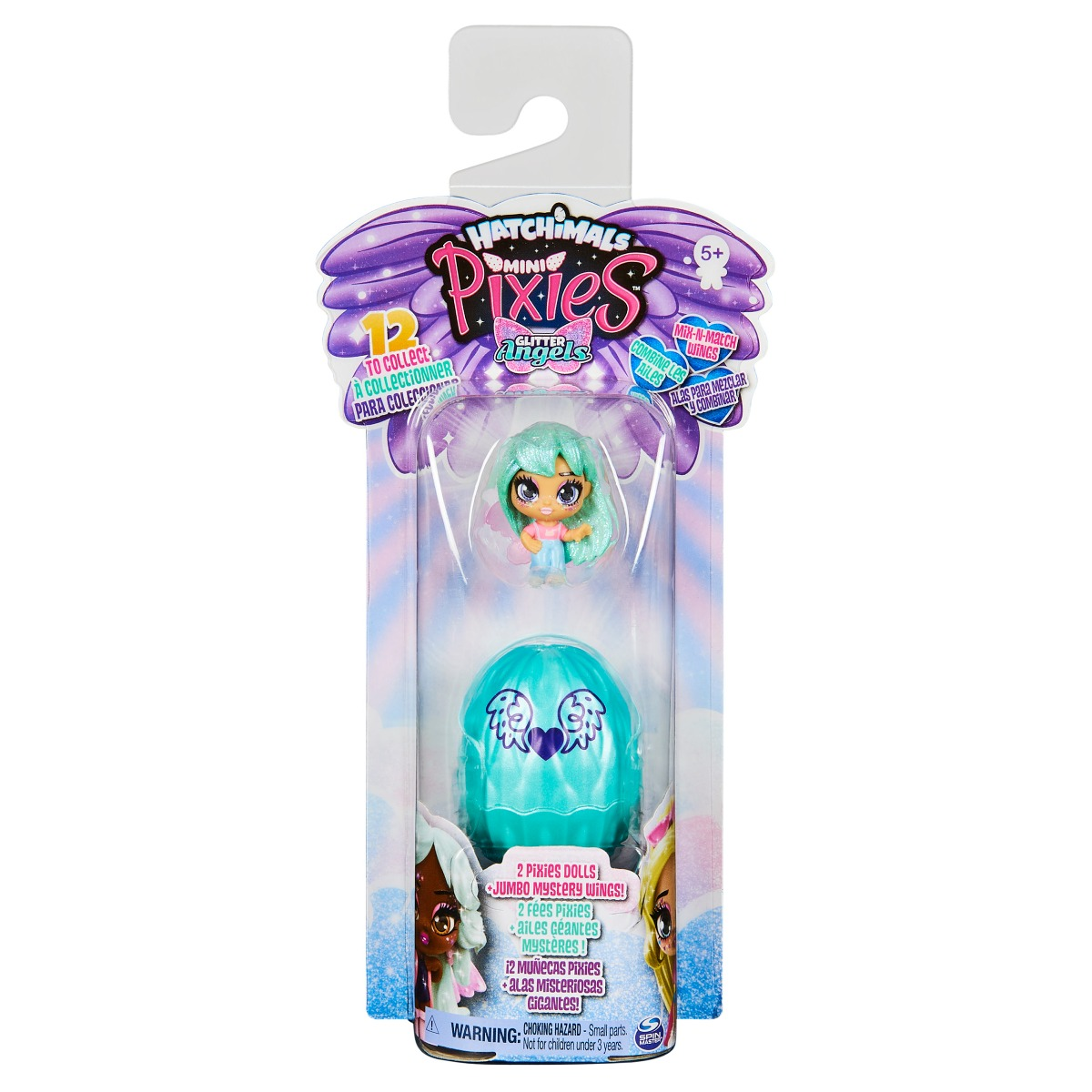 Set 2 figurine Hatchimals Mini Pixies 20129066